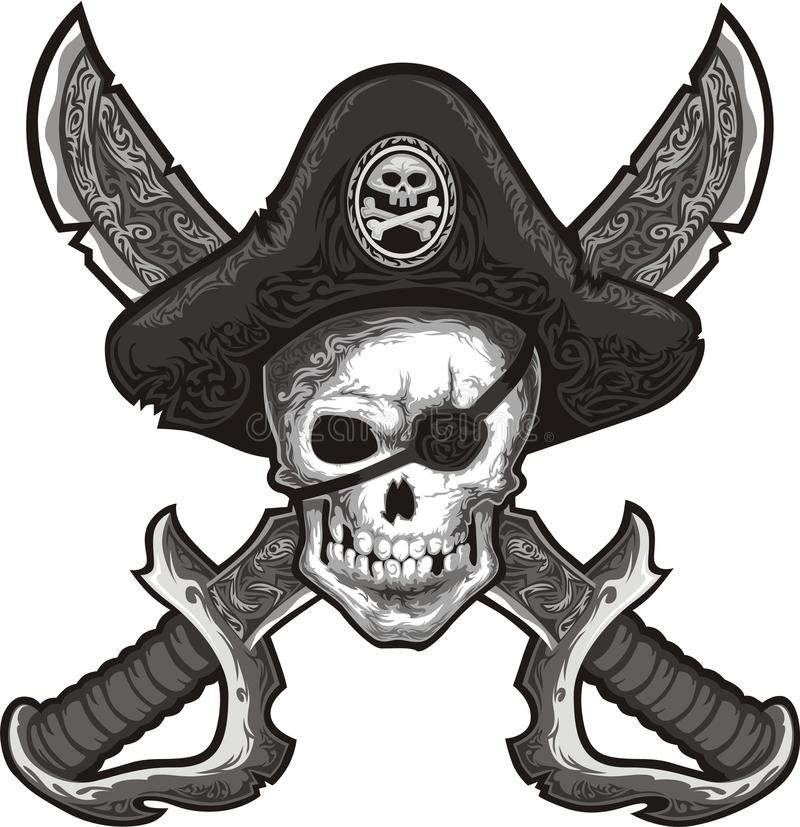 jolly roger stock illustrationer