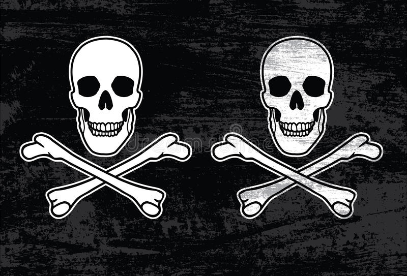 Download Jolly roger stock vector. Illustration of background - 24850180