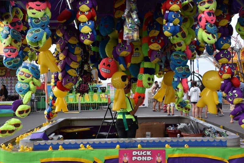 Jolly Roger Amusement Park dans la ville d'océan, le Maryland image stock