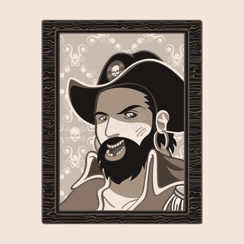 Jolly Roger Pirate Stock Images