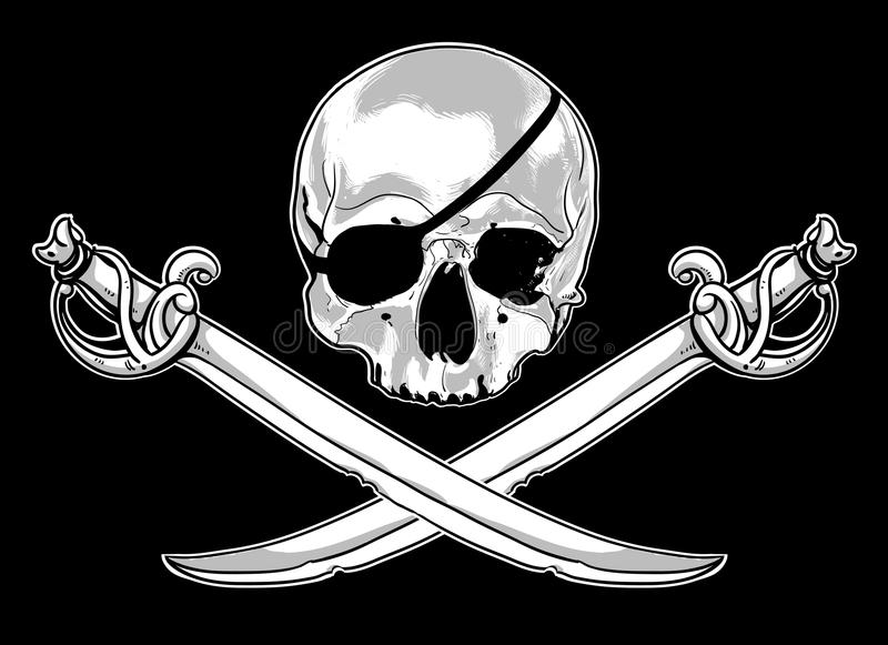 Download Jolly Roger stock vector. Image of designer, jolly, flag - 41888979