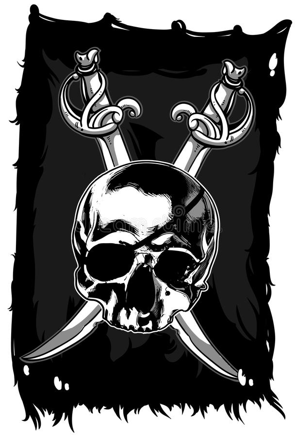 Download Jolly Roger stock vector. Illustration of isolated, illustration - 41889125