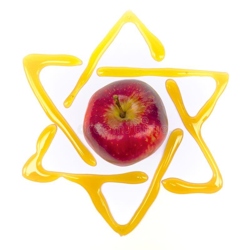 Jom Kippur Davidsstern stockfoto
