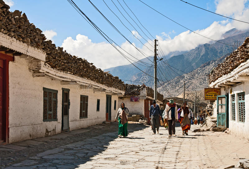 Download Jomsom, Nepal editorial photography. Image of nepal, national - 39502842