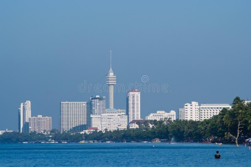 Jomtien Beach, Pattaya, Thailand royalty free stock photo