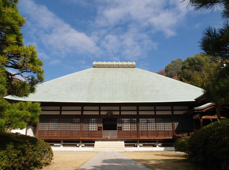 Jomyoji Tempel in Kamakura lizenzfreie stockfotografie