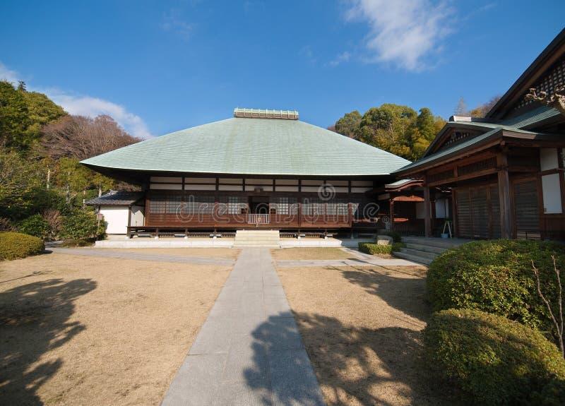 Jomyoji Tempel in Kamakura stockbilder