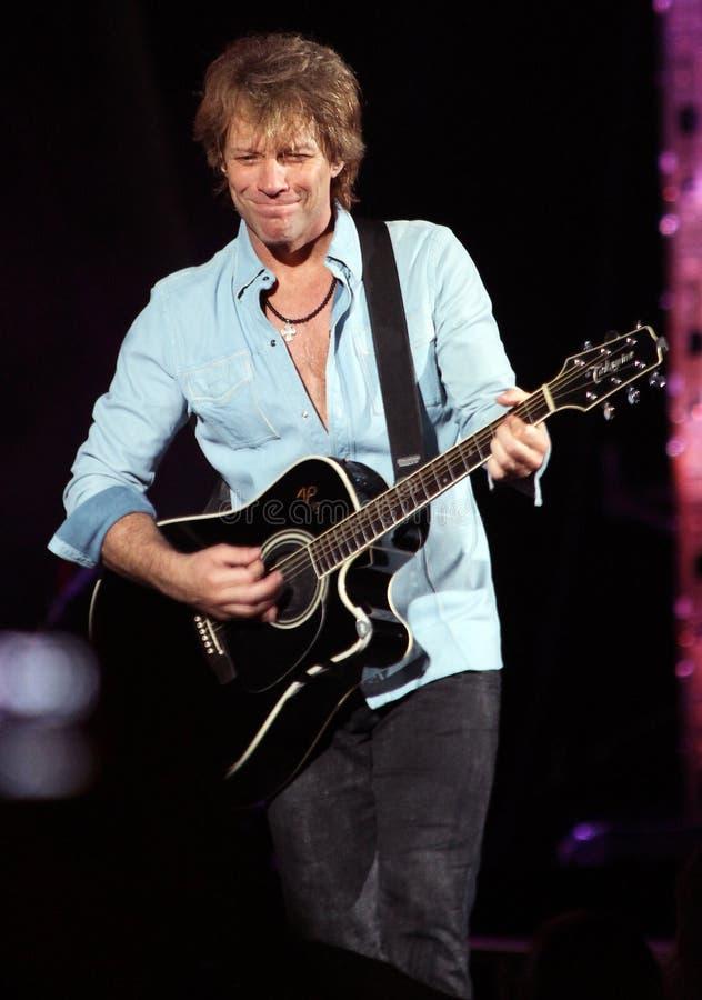 Jon Bon Jovi imagens de stock