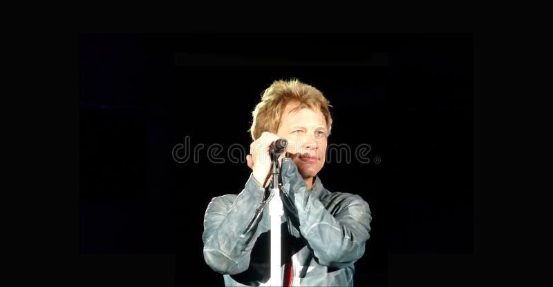 Jon Bon Jovi 2013 fotos de archivo libres de regalías