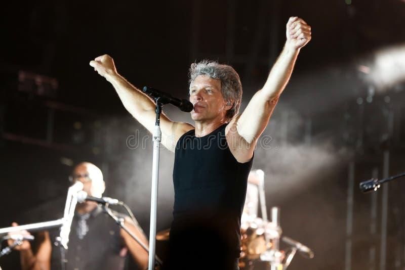 Jon Bon Jovi royalty-vrije stock afbeelding
