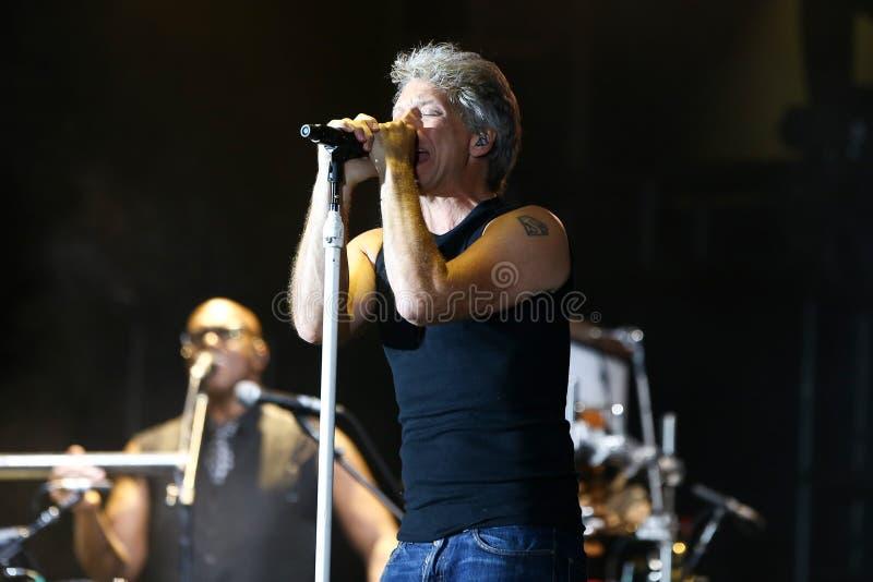 Jon Bon Jovi immagine stock
