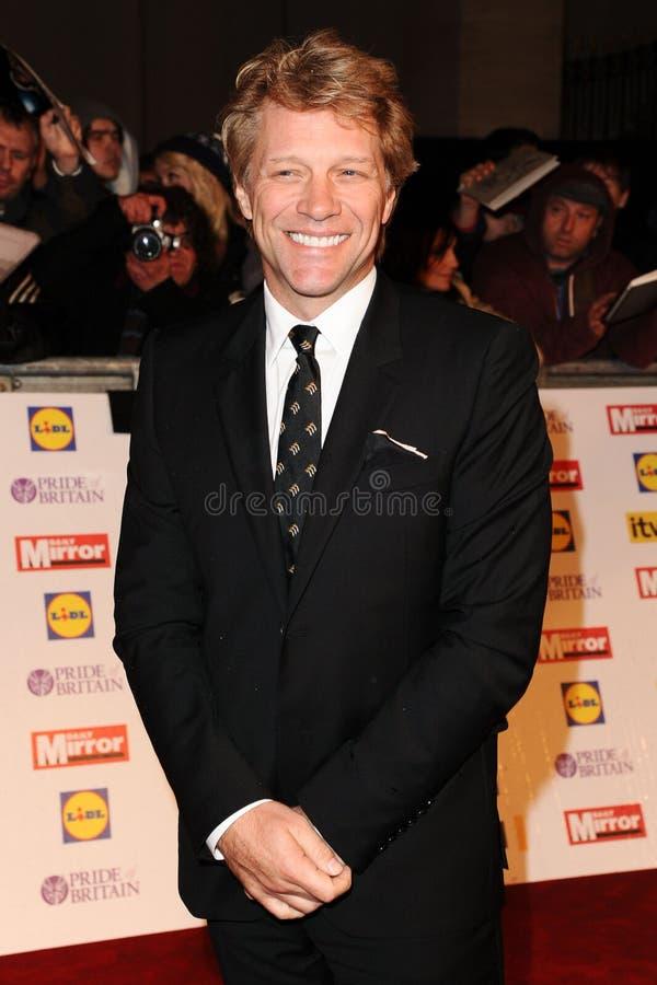 Jon Bon Jovi obraz stock