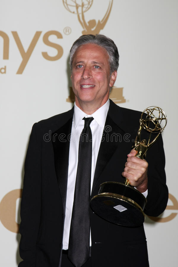 Jon Stewart foto de stock