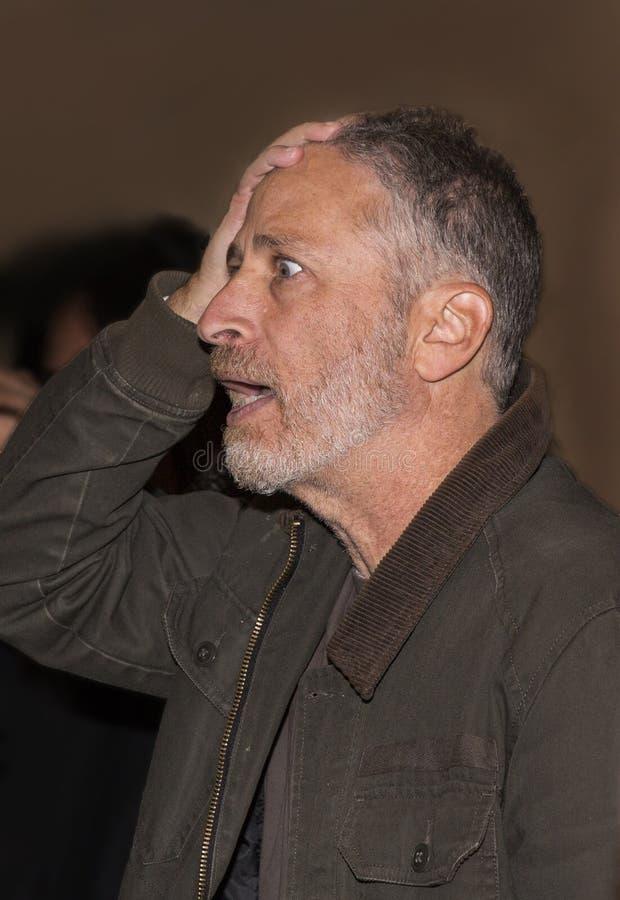 Jon Stewart fotografia de stock royalty free