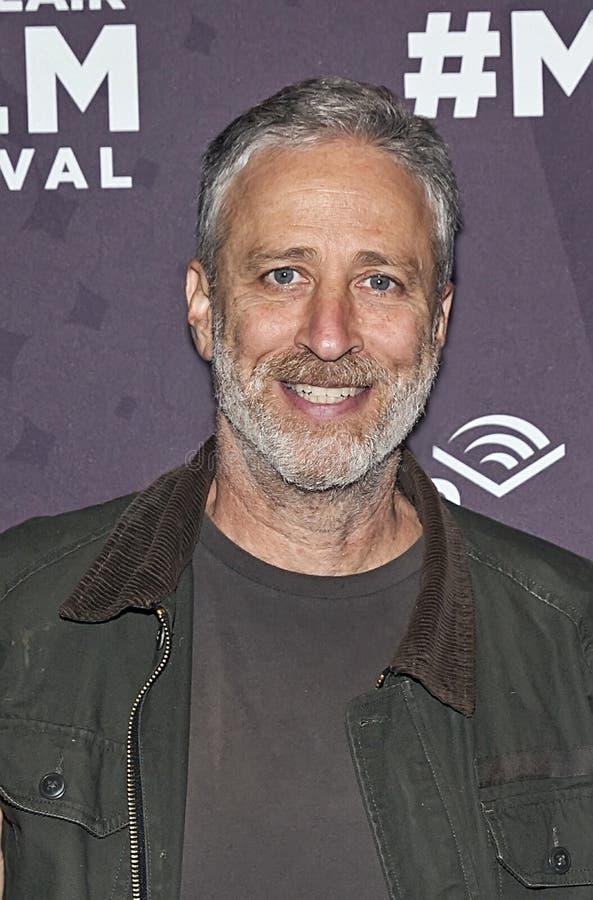 Jon Stewart imágenes de archivo libres de regalías