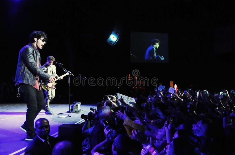 Jonas Brothers royaltyfri bild