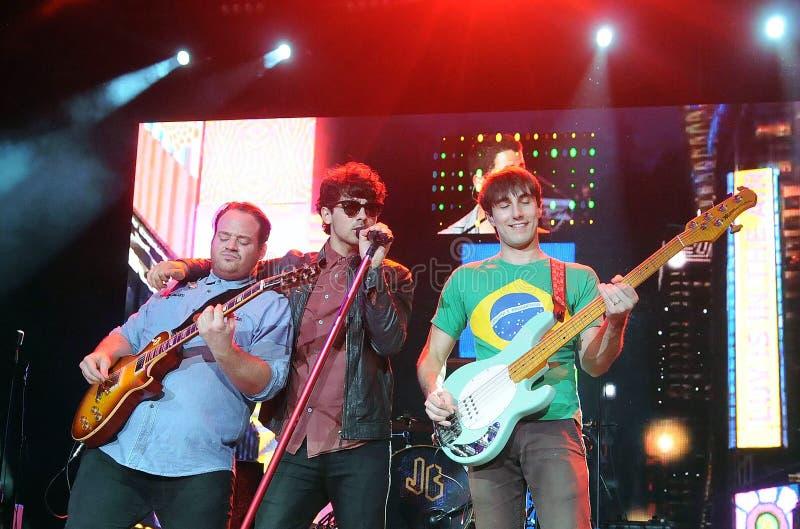 Jonas Brothers royaltyfria foton