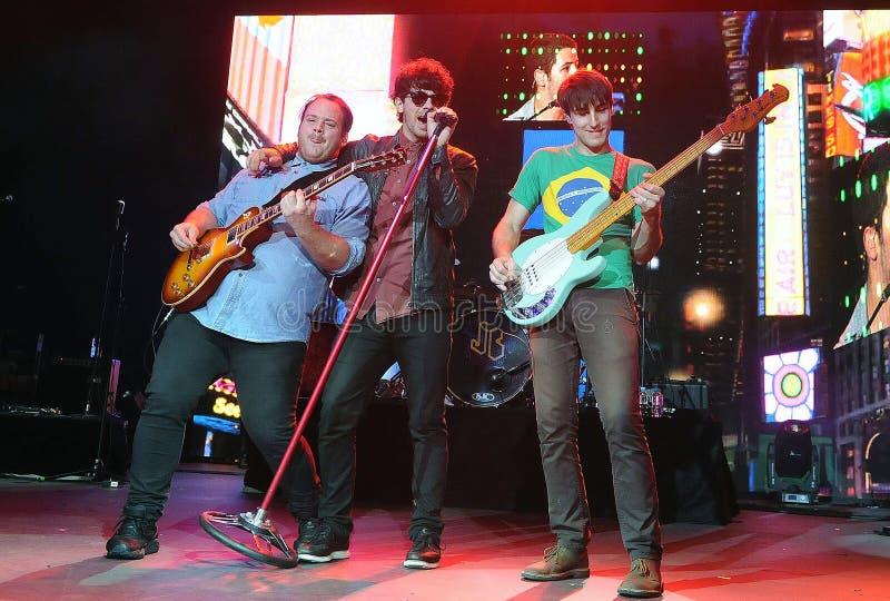 Jonas Brothers royaltyfri fotografi