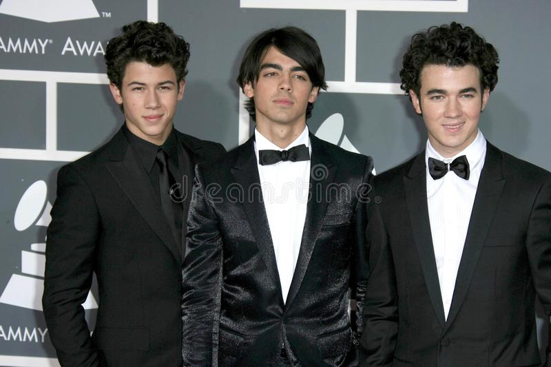 Jonas Brothers stock foto
