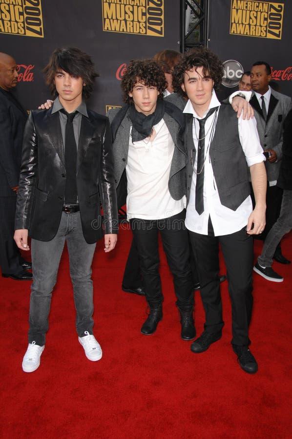 Jonas Brothers stock photography