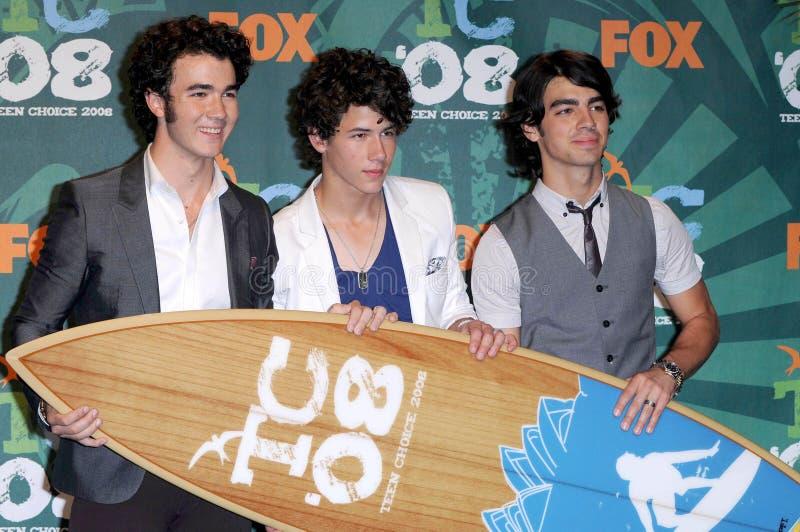 Jonas Brothers images libres de droits
