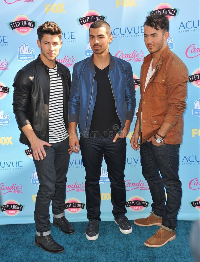 Jonas Brothers photos libres de droits