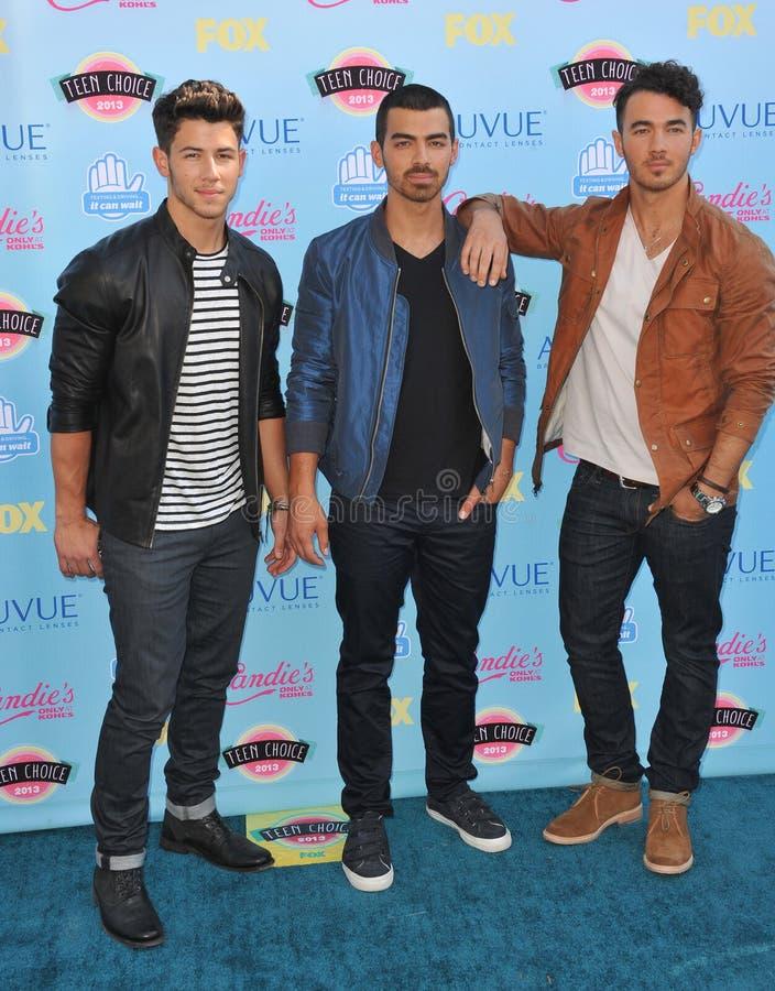 Jonas Brothers Joe Jonas arkivfoto