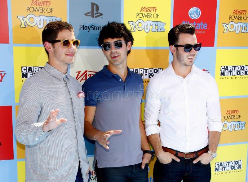 The Jonas Brothers royalty free stock photo