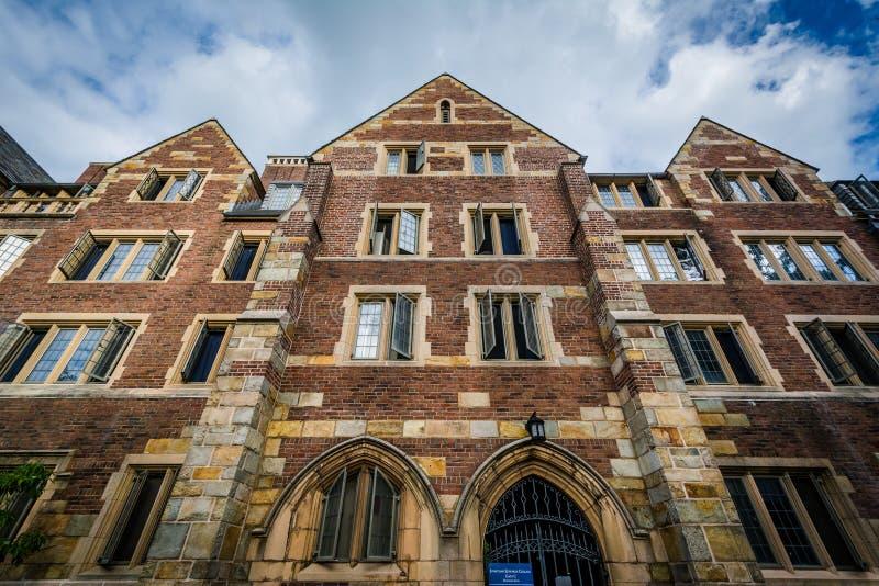 Jonathan Edwards College Building, bei Yale University, in Ne stockfotos