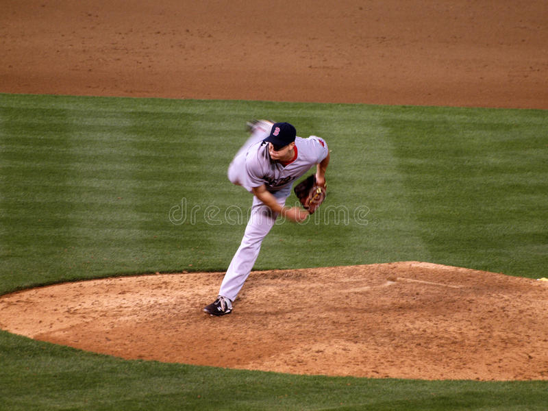 Download Jonathan Papelbon Puffs His Checks As Throws Pitch Editorial Image - Image of oakland, major: 15234055