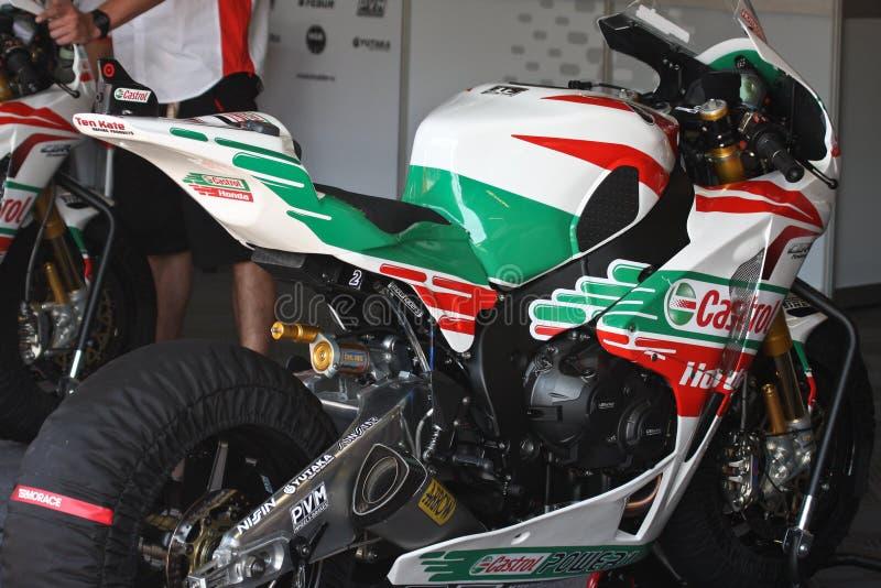 Download Jonathan Rea - Honda CBR1000RR - Honda World Super Editorial Stock Image - Image: 24433144