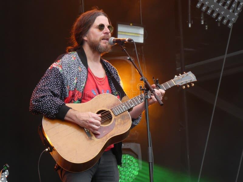 Jonathan Wilson au festival carré principal 2019, Arras, France photo stock