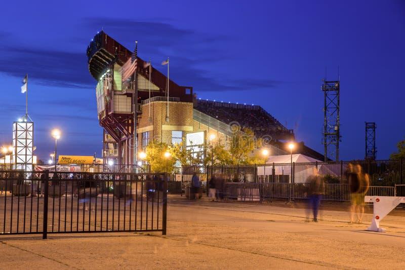 Jones Beach Theater Long Island NY arkivfoto