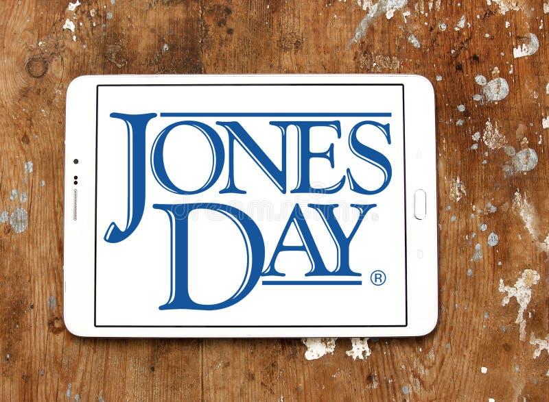 Jones Day firmy prawniczej logo obraz royalty free