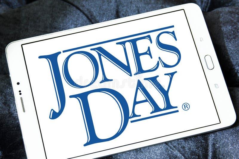 Jones Day firmy prawniczej logo zdjęcie royalty free