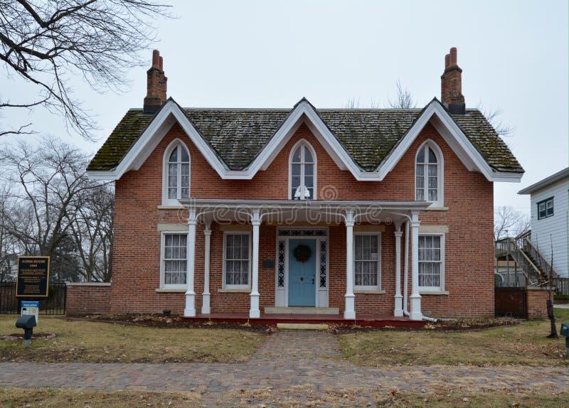 Jones House royaltyfri fotografi