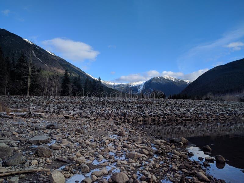 Jones Lake British Columbia arkivfoto