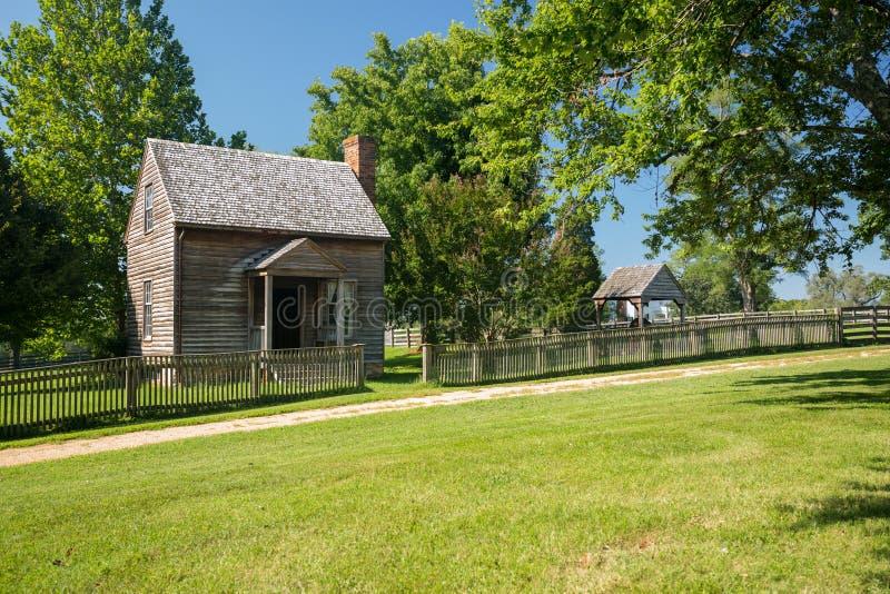Jones Law Office på den Appomattox nationalparken arkivbilder