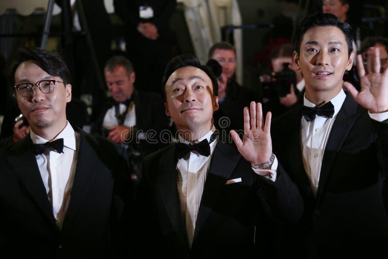 Jong-ящик Yoon, Петь-минута Ли, Ji-Hoon Ju стоковые изображения rf