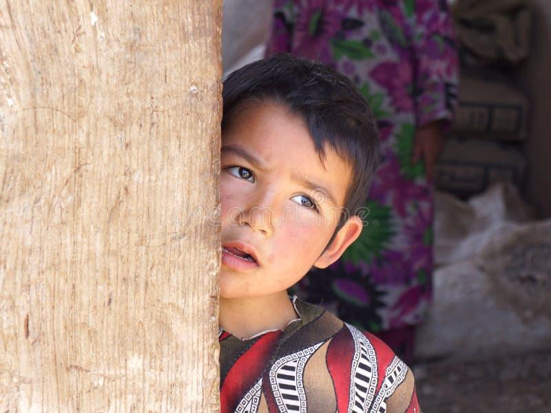 Jong Afghaans Meisje stock afbeeldingen
