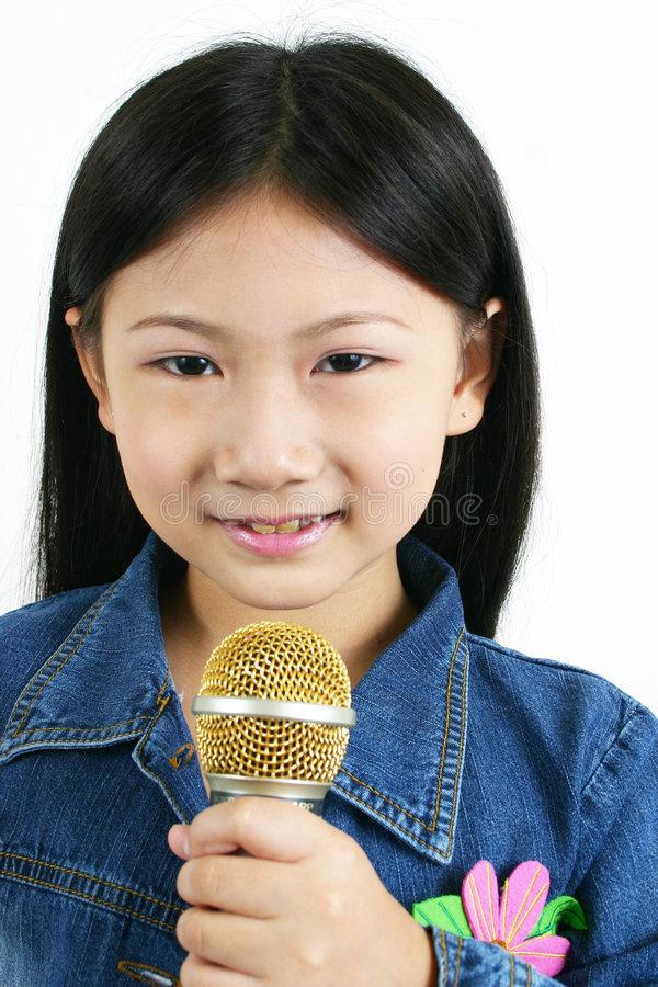 Jong Aziatisch kind 001 royalty-vrije stock foto's