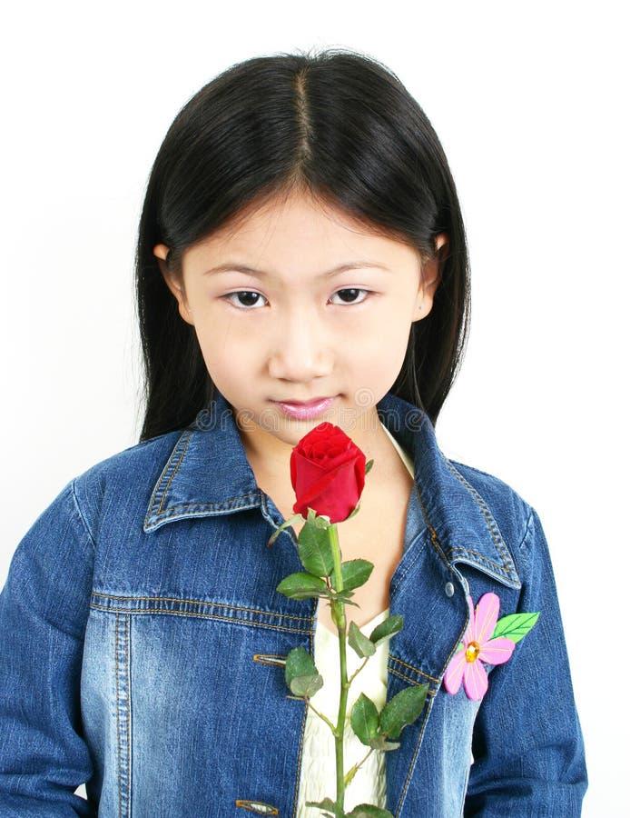 Jong Aziatisch kind 008 stock foto's