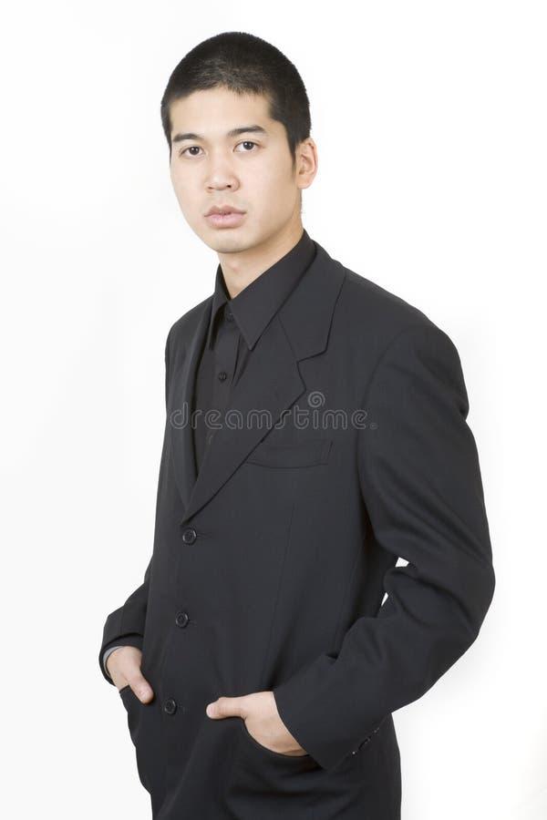 Jong Aziatisch mannetje 3 stock afbeelding