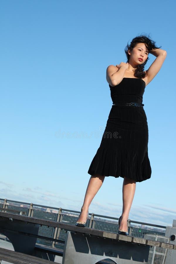 Jong Aziatisch Meisje royalty-vrije stock afbeeldingen