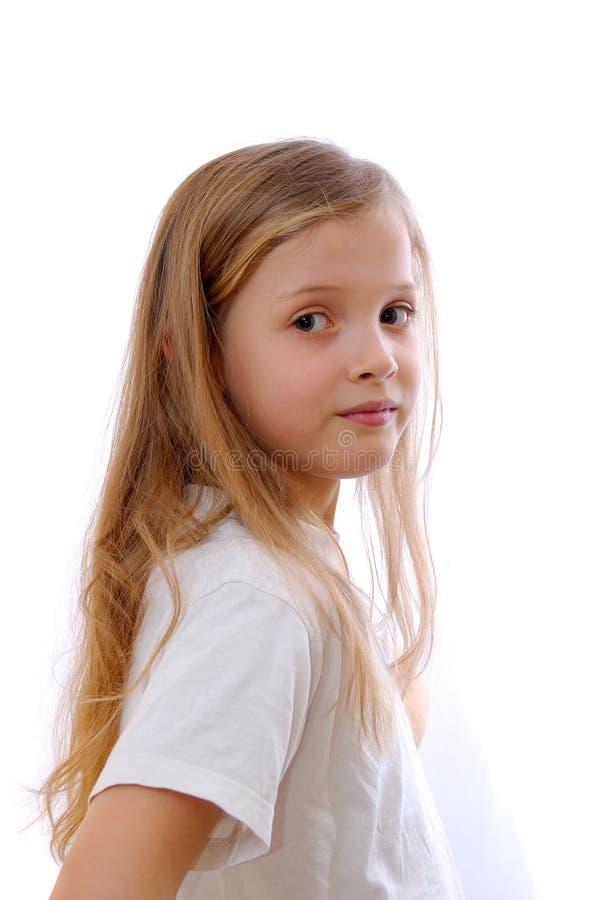 Jong blonde meisje stock fotografie