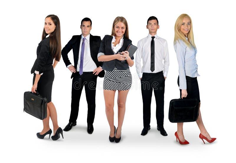 Jong commercieel team royalty-vrije stock fotografie