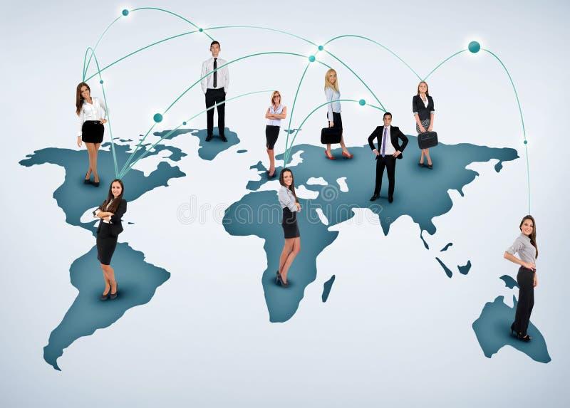 Jong commercieel team royalty-vrije stock afbeeldingen