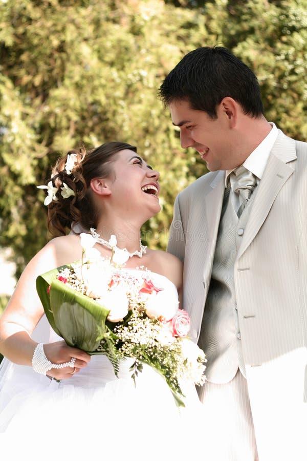 Jong echtpaar stock foto