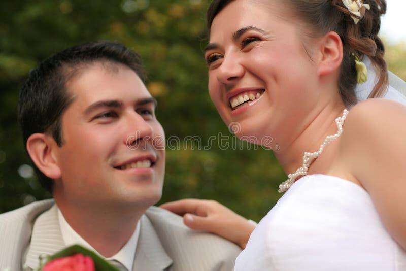 Jong echtpaar royalty-vrije stock afbeeldingen