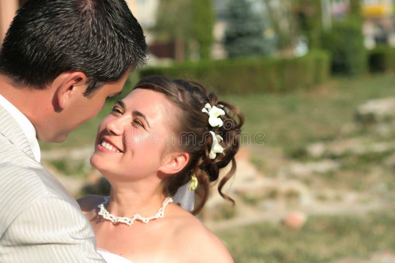 Jong echtpaar stock afbeelding